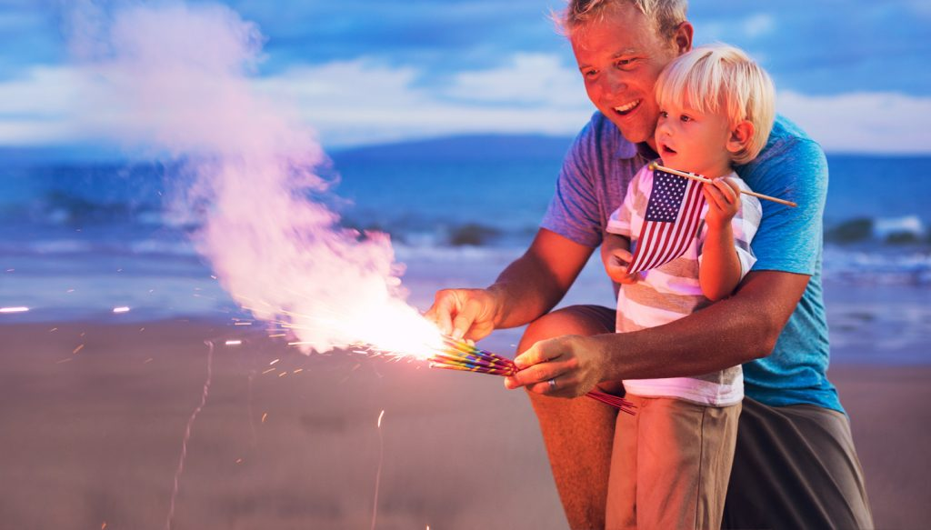 5 Fireworks safety tips every dad should know