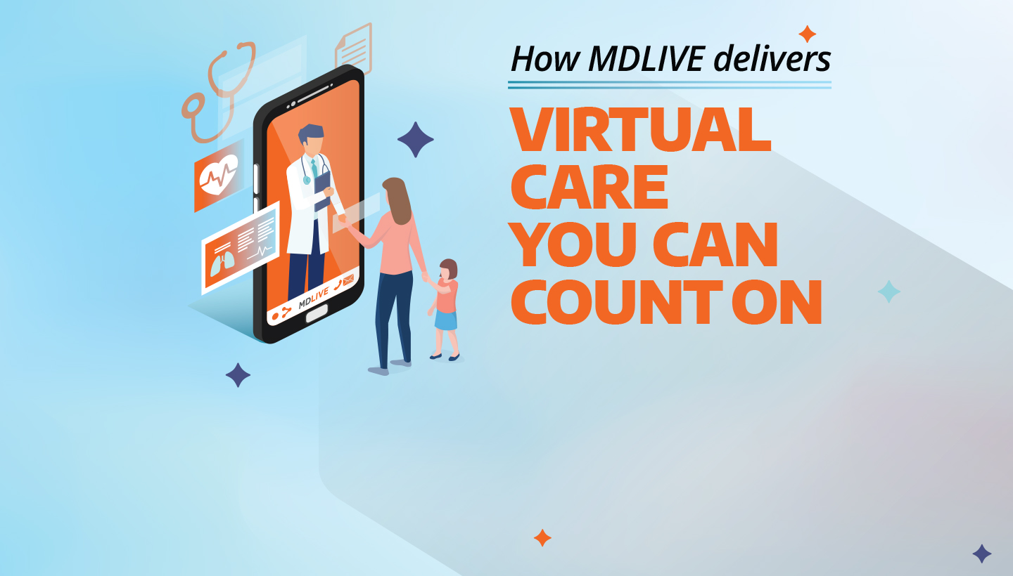 How MDLIVE Telehealth Delivers